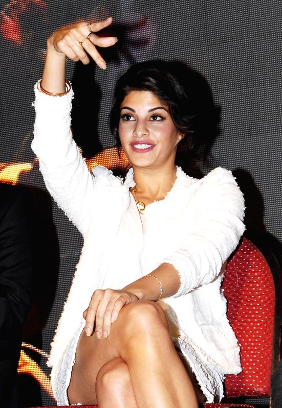 actress jacqueline fernandez during the get sri lankan ed to promote