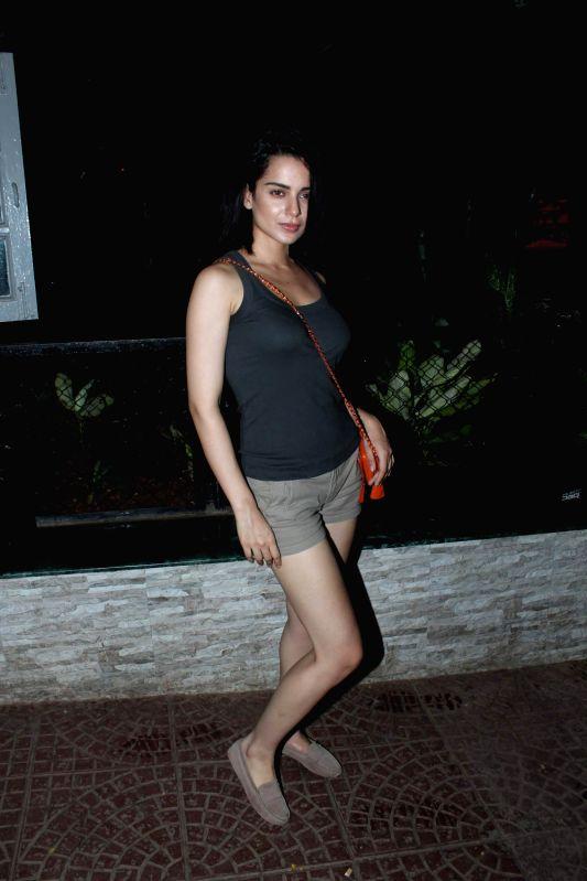 Bollywood actress Kangana Ranaut at Ekta Kapoor`s Birthday Bash at her residence in Juhu, Mumbai. - Kangana Ranaut