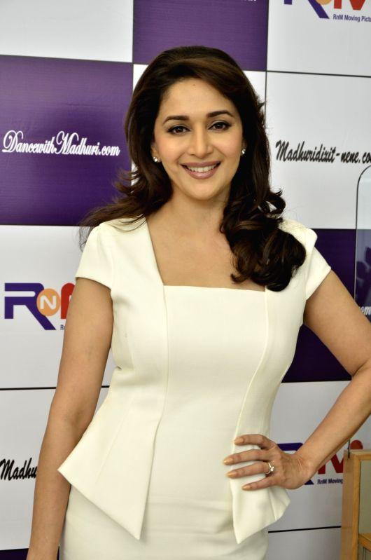 Bollywood actress Madhuri Dixit (Image Source: IANS)