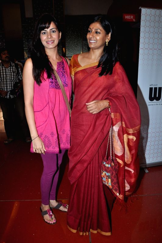 Bollywood actress Nandita Das at the special screening of the upcoming film `Gattu`, held at Cinemax, Mumbai. - Nandita Das