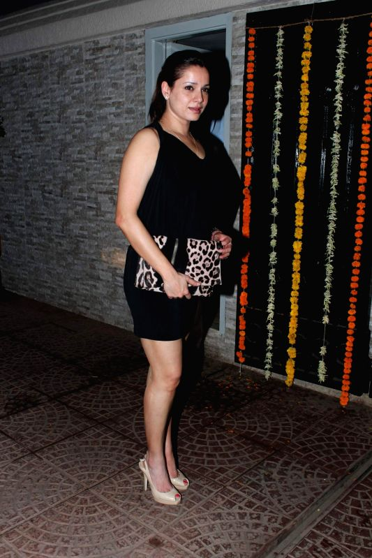 Bollywood actress Neelam Kothari at Ekta Kapoor`s Birthday Bash at her residence in Juhu, Mumbai. - Neelam Kothari
