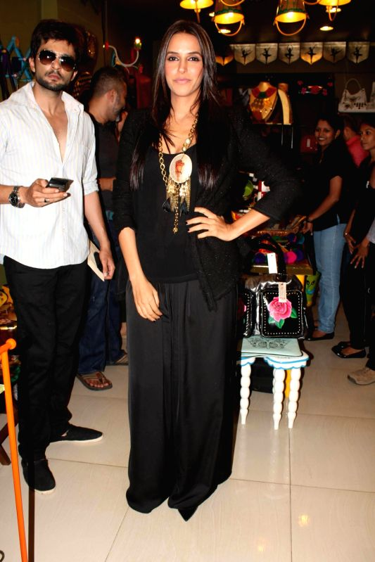 Bollywood actress Neha Dhupia at the opening of Fluke Store at Andheri, Mumbai. - Neha Dhupia