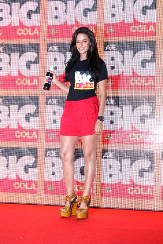 Bollywood actress Neha Dhupia during the launch of Big Cola held at Worli, Mumbai.