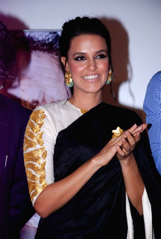 Bollywood actress Neha Dhupia Maximum film music launch at PVR Mumbai, India. - Neha Dhupia Maximum