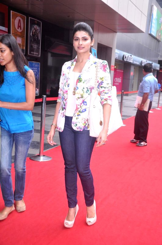 Bollywood actress Prachi Desai celebrates World Environment Day in Mumbai.