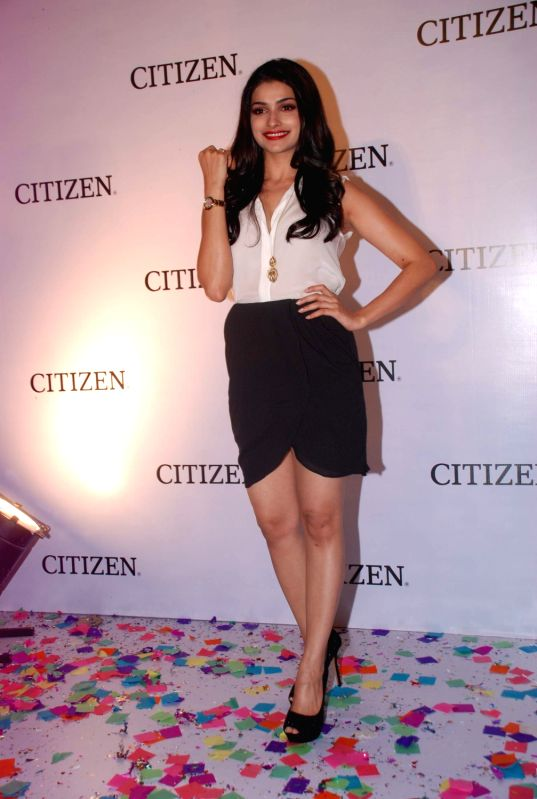 Bollywood actress Prachi Desai launches the Citizen L Diamond watches in Mumbai.