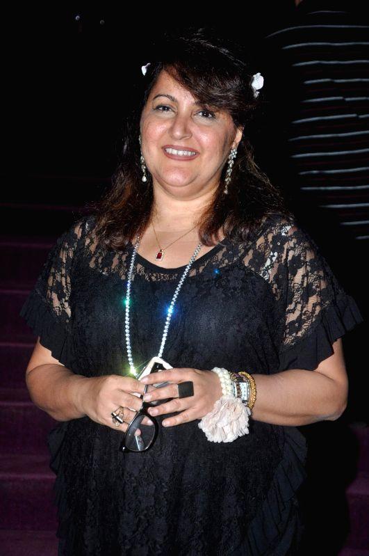 Bollywood celeb at Raell Padamsee`s Broadway and Beyond show at NCPA, Mumbai.