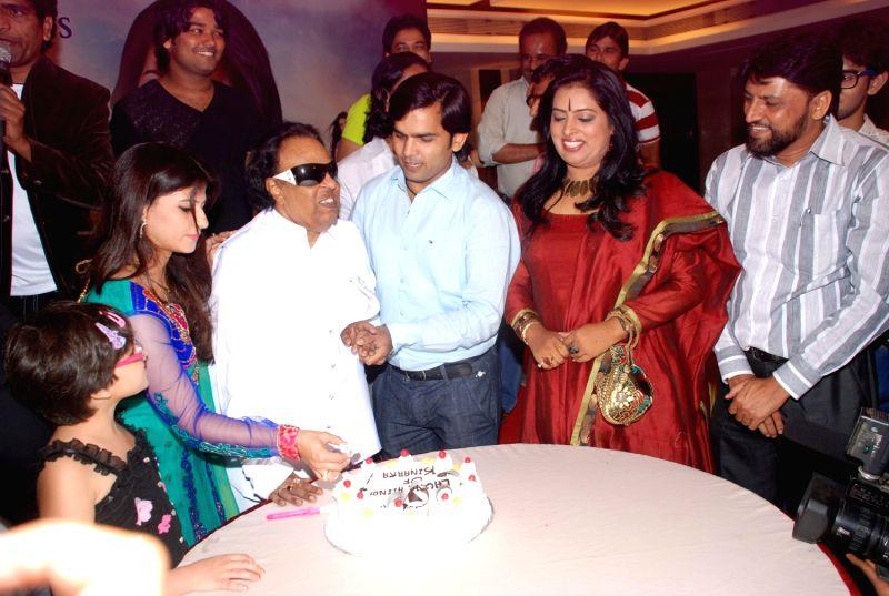 Bollywood celebrities at Kinara album launch at Khar Gymkhana.