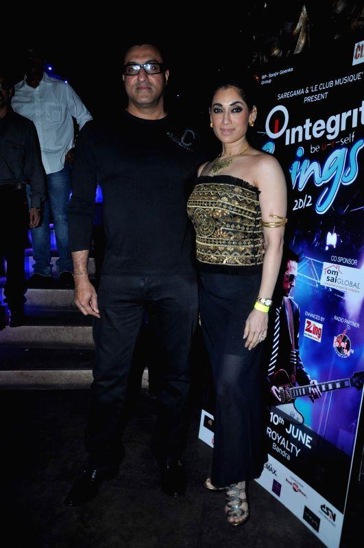 Bollywood celebrities at Strings Concert in Bandra, Mumbai.