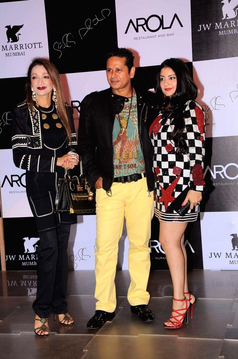 Bollywood celebrities at the launch of AROLA Restaurant in JW Mariott, Mumbai.