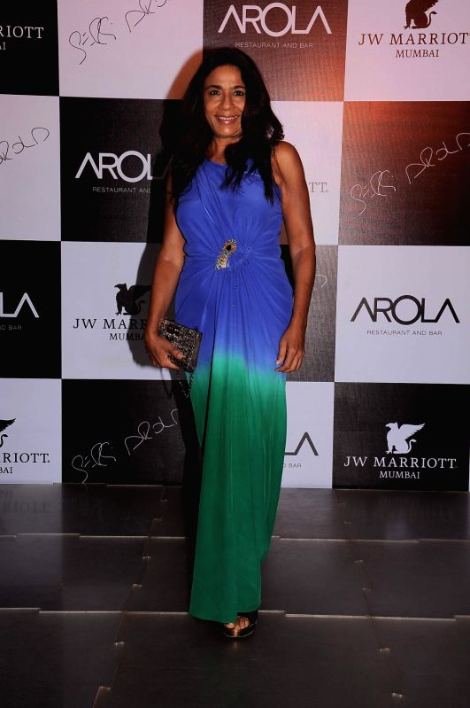 Bollywood celebrities at the launch of AROLA Restaurant in JW Mariott, Mumbai.