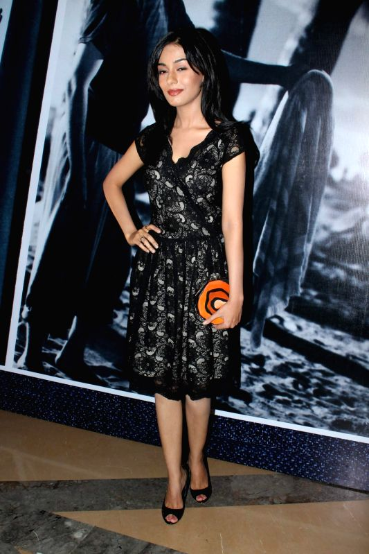 Bollywood celebrity Amrita Rao at the premiere of film Awara at PVR. - Amrita Rao