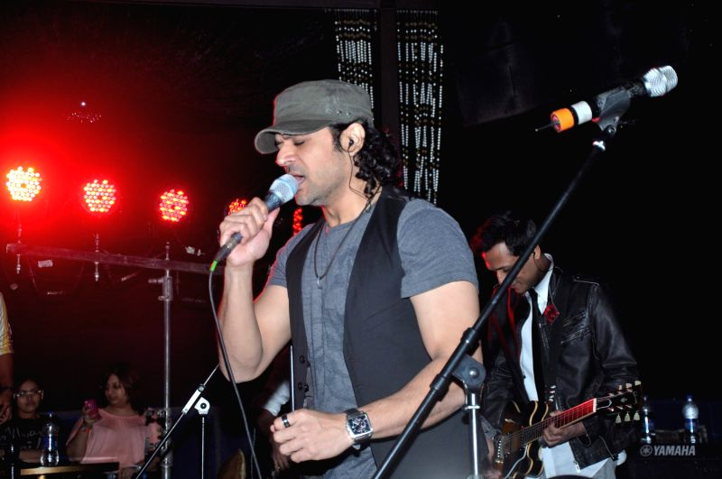 Bollywood celebrity at Strings Concert in Bandra, Mumbai.