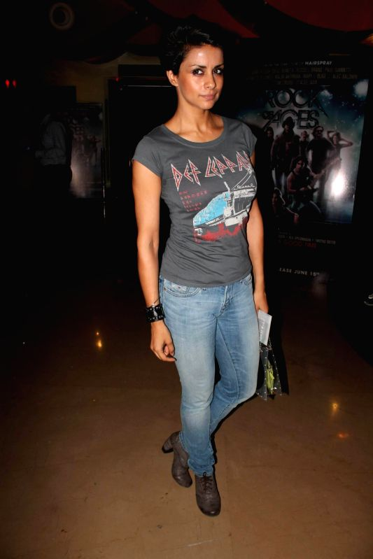 Bollywood celebs at the premiere of Rock of Ages at PVR, Juhu.