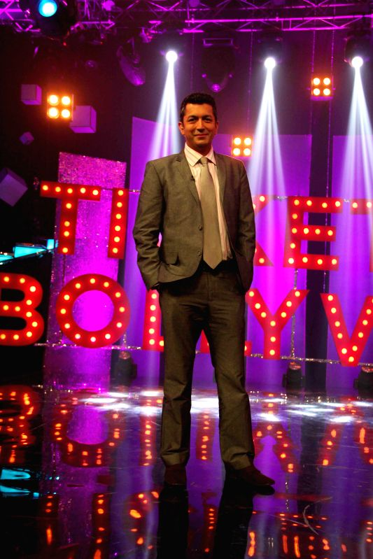 Bollywood filmmaker Kunal Kholi on the sets of NDTV Prime`s Ticket to Bollywood in Mumbai, on May 2, 2014.