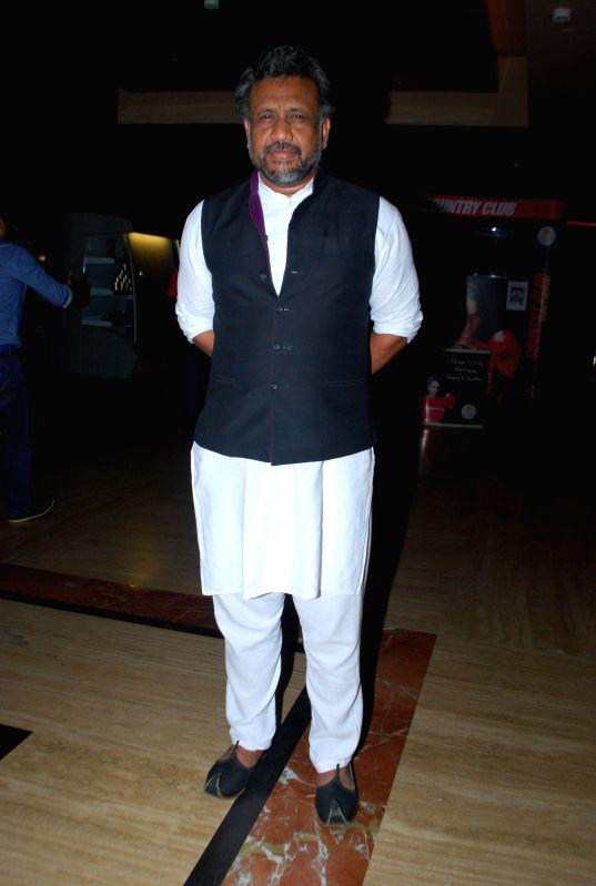 Bollywood filmmakers Anubhav Sinha during the premiere of film Kya Dilli Kya Lahore in Mumbai on April 30, 2014. - Anubhav Sinha