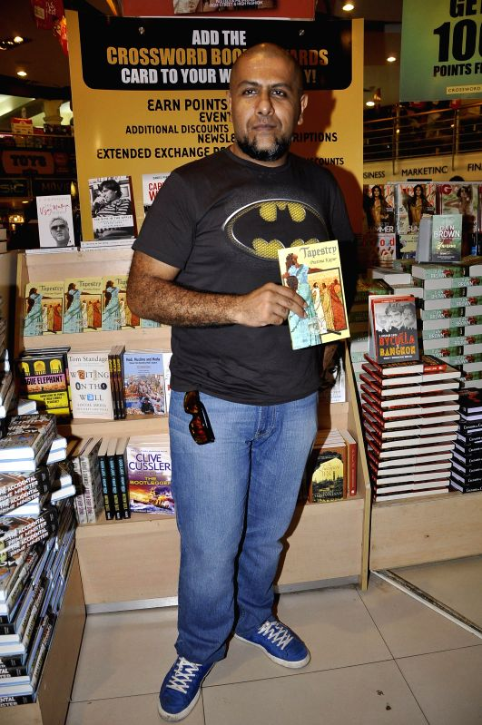 Bollywood music director Vishal Dadlani during the launch of book Tapestry in Mumbai on May 15, 2014.