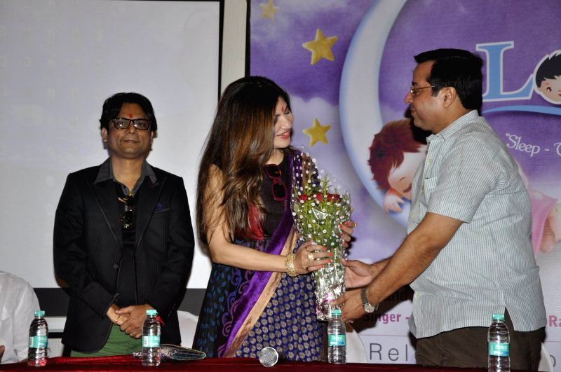 Bollywood Singer Alka Yagnik and Singer Kapil Ronak launch  Anand Milind music album  Lories  in Mumbai