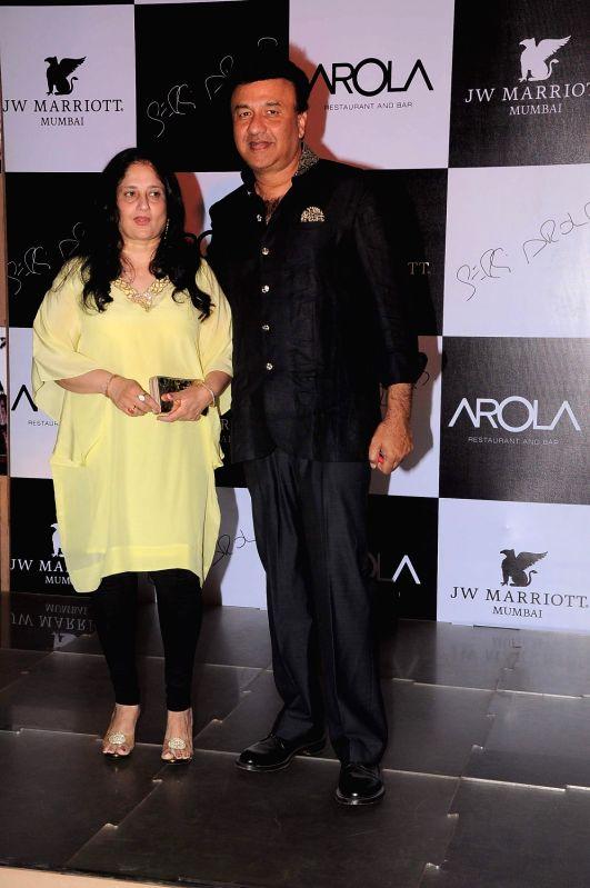 Bollywood singer Anu Malik at the launch of AROLA Restaurant in JW Mariott, Mumbai. - Malik