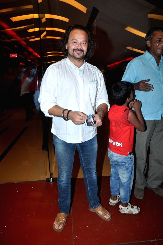 Bollywood star at the special screening of the upcoming film `Gattu`, held at Cinemax, Mumbai.