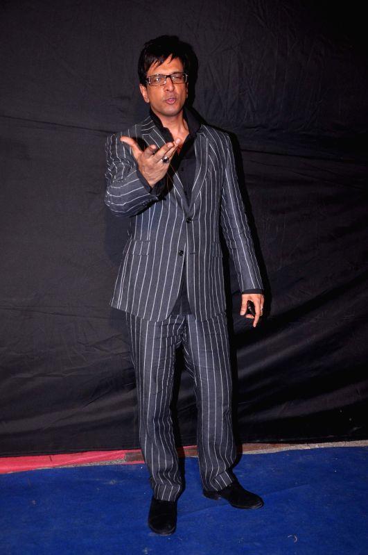 Bollywood star Javed Jaffrey at Indian Telly Awards in Mumbai.