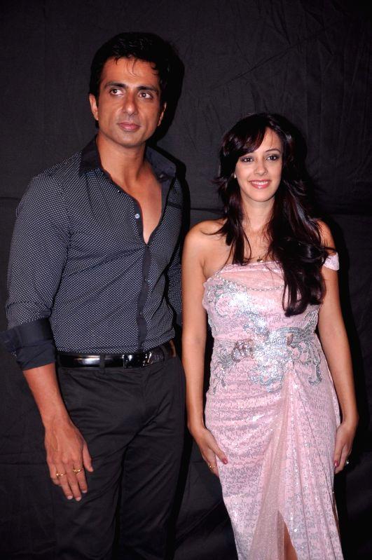 Bollywood star Sonu Sood at Indian Telly Awards in Mumbai.