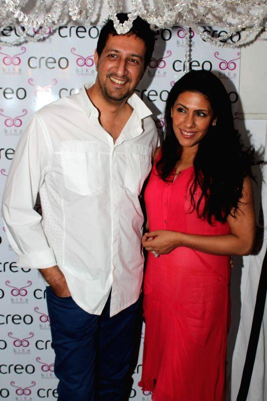 Bollywood star Sulaiman Merchant at the launch of International swimwear brand by Ambika Sanjana at Creo.