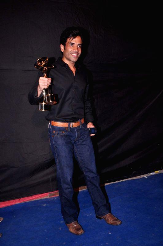 Bollywood star Tushar Kapoor at Indian Telly Awards in Mumbai. - Tushar Kapoor