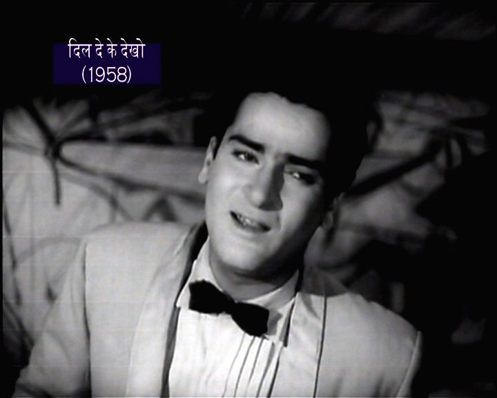 Bollywood superstar Shammi Kapoor in his heyday
