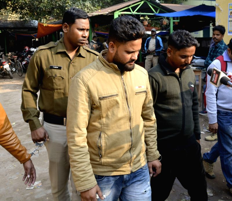 Bolpur: The police arrested two persons for attack on students of Visva-Bharati University who were allegedly beaten up with sticks and rods, in Bolpur of West Bengal's Birbhum district on Jan 16, 2020. Two students, Swapni Mukherjee and Falguni Pal,