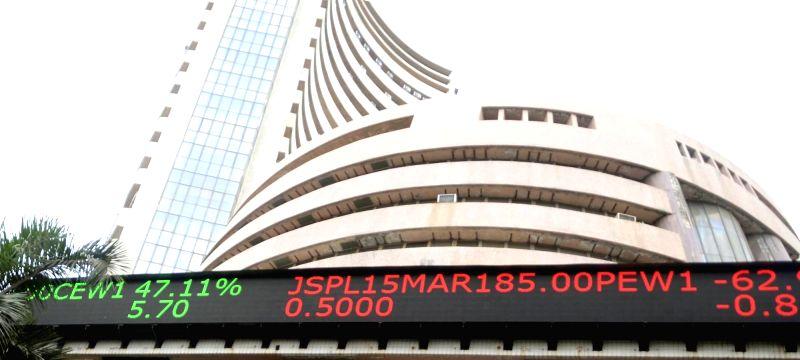 Bombay Stock Exchange. (File Photo: IANS)