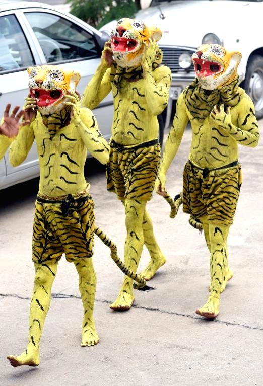 Bonalu' celebrations underway, in Hyderabad on Aug 9, 21018.