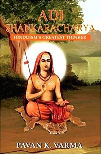 "Book Cover of ""Adi Shankaracharya: Hinduism's Greatest Thinker"