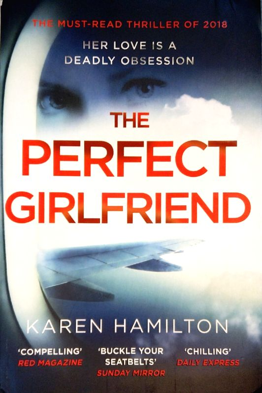 "Book cover of ""The Perfect Girl"" authored by Karen Hamilton."