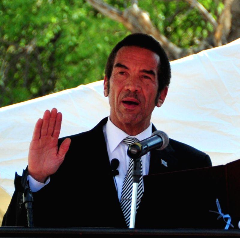 Botswana President Seretse Khama Ian Khama. (File Photo: IANS)