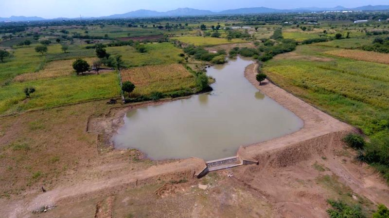 Bounty in the pits: Water conservation trenches change face of Rajasthan villages