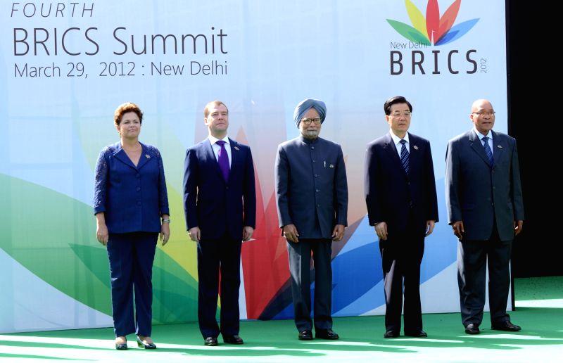 BRICS Summit - Manmohan Singh