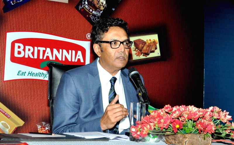 Britannia Industries Ltd Varun Berry during a press conference in Kolkata on Aug 8, 2016.