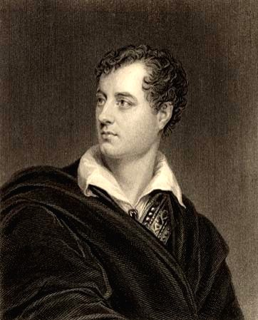 British poet Lord Byron, whose own life as well as literary creations, have given a name for a type of literary characters
