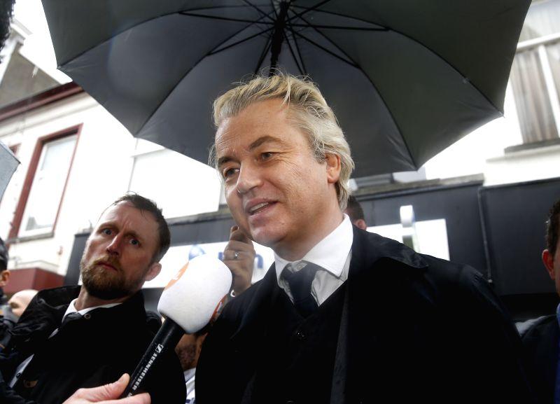 THE NETHERLANDS-BREDA-ELECTIONS-GEERT WILDERS-CAMPAIGN