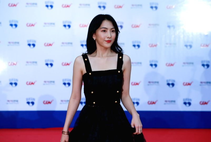 BUCHEON (SOUTH KOREA), July 12, 2018 South Korean actress Kang Ji-young appears at the 22nd Bucheon International Fantastic Film Festival red carpet in Bucheon, South Korea, July 12, ... - Kang J