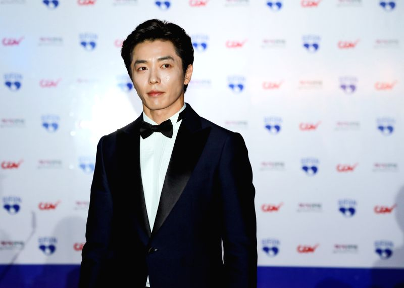BUCHEON (SOUTH KOREA), July 12, 2018 South Korean actor Kim Jae-wook appears at the 22nd Bucheon International Fantastic Film Festival red carpet in Bucheon, South Korea, July 12, 2018. ... - Kim Jae