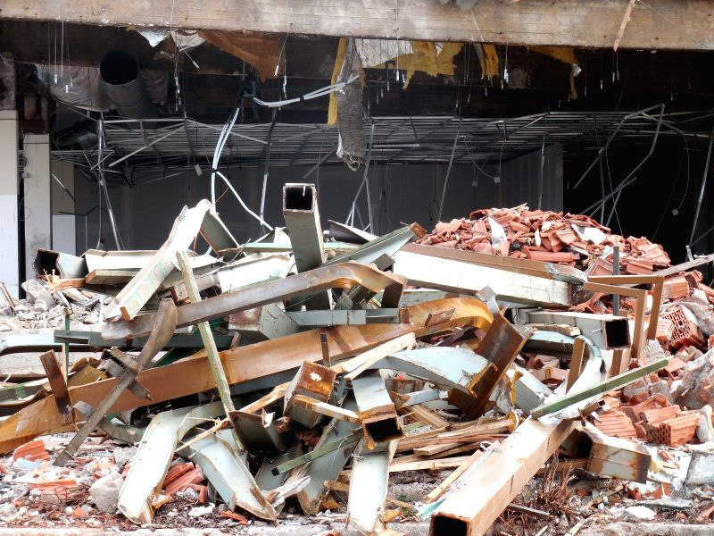 Building collapses. (File Photo: IANS)