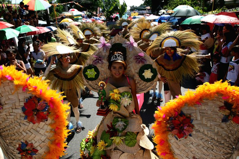 Street dancers perform during the start of the Carabao Festival in Bulacan Province, the Philippines on May 14, 2014. The annual Carabao Festival showcases .