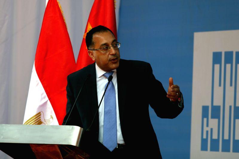 CAIRO, June 7, 2018 - Photo taken on March 18, 2018 shows Mostafa Madbouli attending a press conference in Cairo, Egypt. Egyptian President Abdel-Fattah al-Sisi on Thursday assigned Housing Minister ... - Mostafa Madbouli