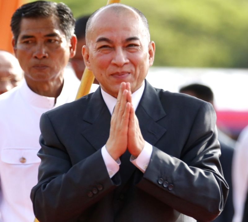 Cambodia King Norodom Sihamoni. (File Photo: IANS)