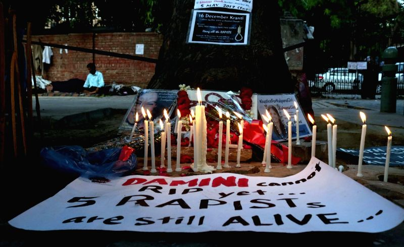 "Candles lit to pay homage to Nirbhaya after calling it a ""rarest of rare"" case, the Supreme Court upheld the death sentence on all four convicts in the brutal 2012 Nirbhaya ..."
