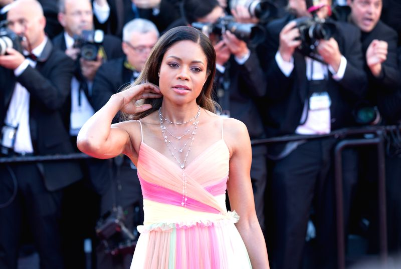 CANNES (FRANCE), May 18, 2017 British actress Naomie Harris poses on the red carpet before the opening of the 70th Cannes International Film Festival in Cannes, France, on May 17, 2017. ... - Naomie Harris