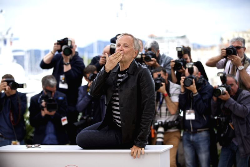 "CANNES, May 13, 2016 - Cast member Fabrice Luchini poses during a photocall for the film ""Ma Loute"" (Slack Bay) during the 69th Cannes Film Festival in Cannes, France, May 13, 2016."