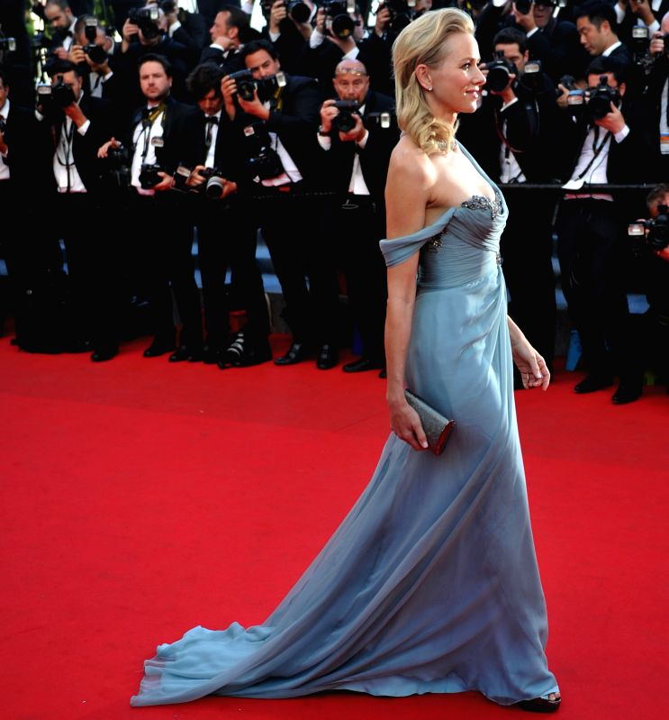 "British-Australian actress Naomi Watts arrives for the premiere of ""How to Train Your Dragon 2"" during the 67th Cannes Film Festival, in Cannes, France, May - Naomi Watts"